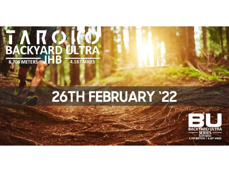 BBU 'Big Backyard Ultra' Series Race #1