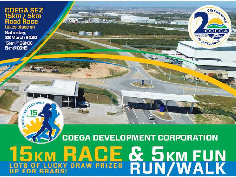 Coega SEZ Road Race 2020