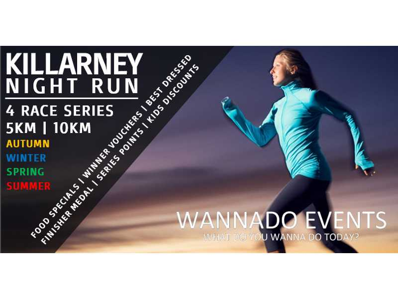 Killarney Night Run – Autumn Catch-Up Run #1