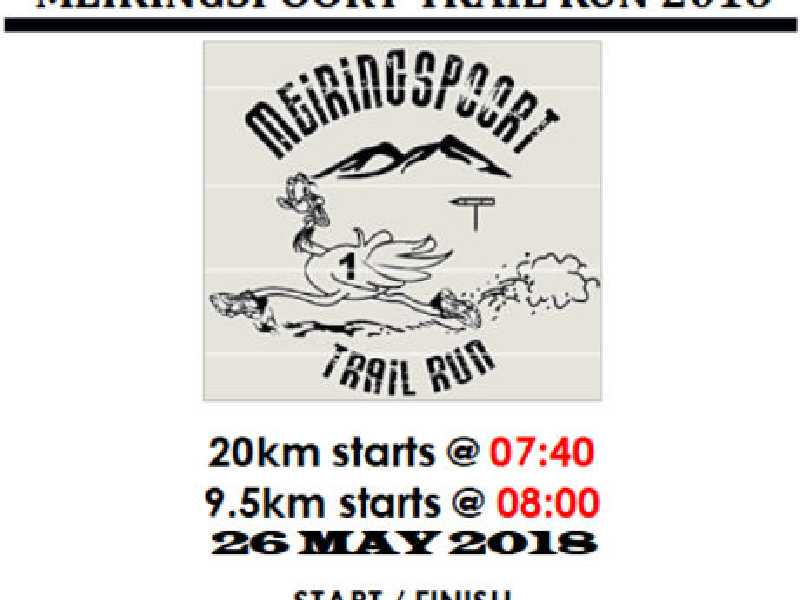 Meiringspoort Trail Run 2017