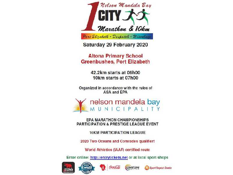 1 City Marathon and 10km