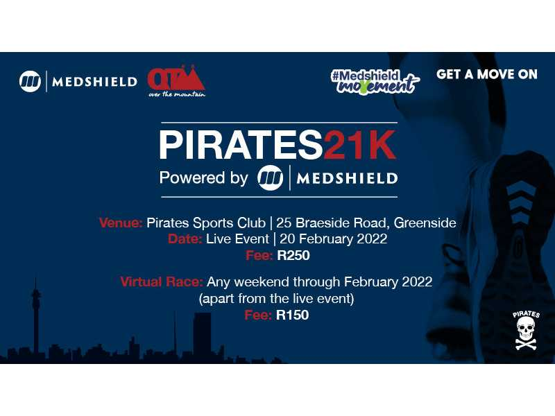 Pirates 21k powered by Medshield