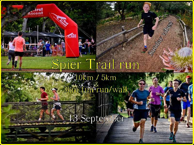 Spier Trail Run - Winter Series #2
