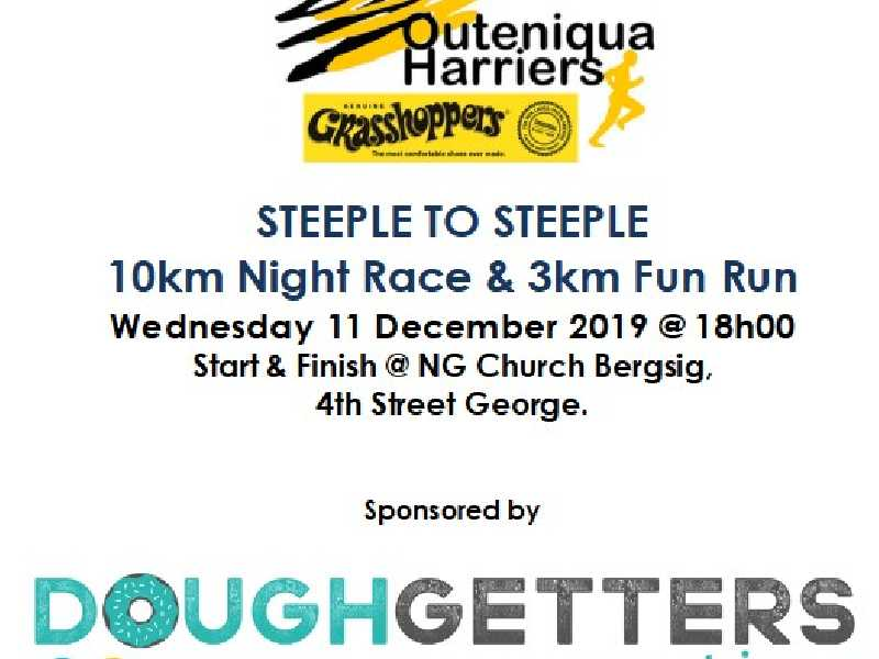Steeple to Steeple 10km Night Race & 3km Fun Run