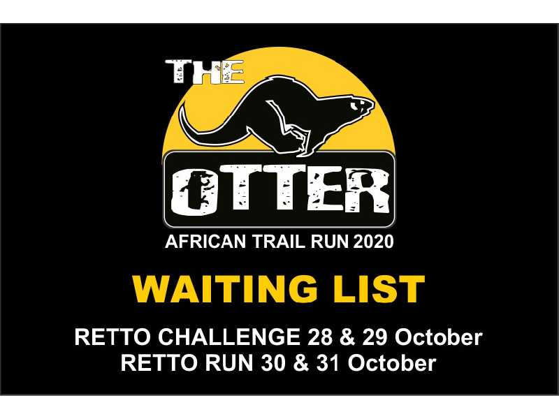 Otter African Trail Run 2020 - Waiting List